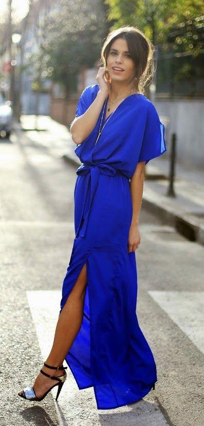 Lolus Fashion Royal Blue Maxi Dress Lovely Heels Royal Blue Maxi Dress Wedding Guest Outfit Summer Maxi Dress Blue