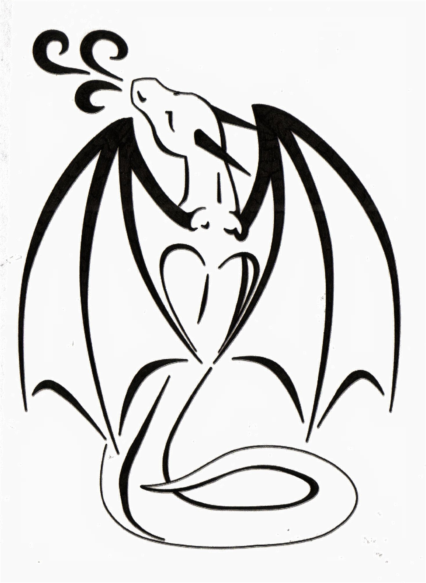 heart wings Small dragon tattoos, Dragon tattoo designs