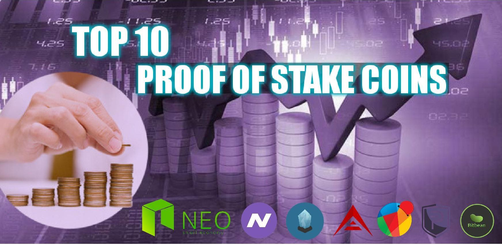 Top 10 ProofofStake (POS) coins Best Staking Coins