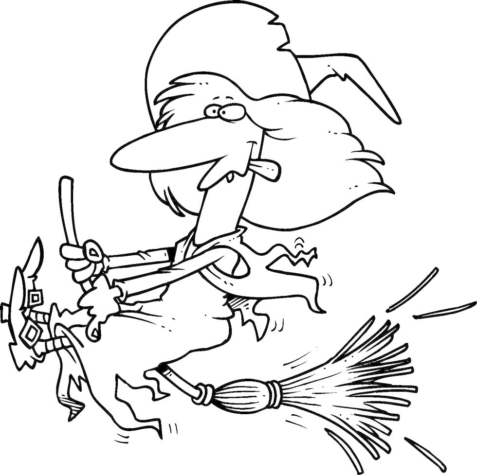 5 Free Witch Coloring Pages And 6 Activity Ideas For The Classroom