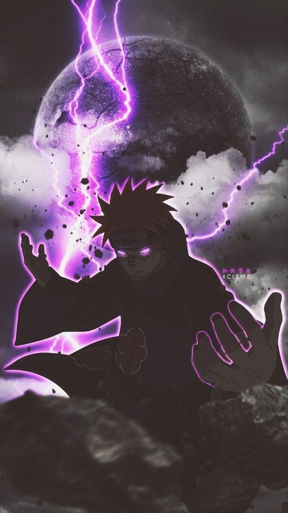 Como Desenhar Pain (Akatsuki-Naruto), FÁCIL E RÁPIDO !