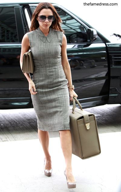 victoria beckham formal dress