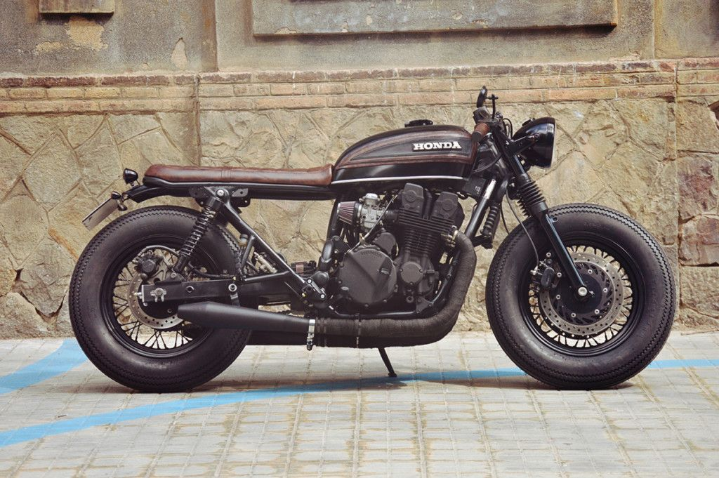 Honda Cb750 Nighthawk Cafe Racer By Overbold Motor Co With