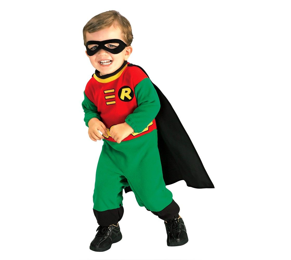 Infant Robin Superhero Costume 6-12 Months