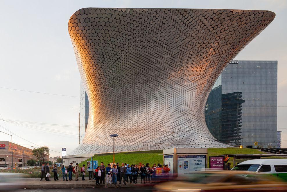 fernando romero enterprise - museo soumaya - Città del Messico - Messico