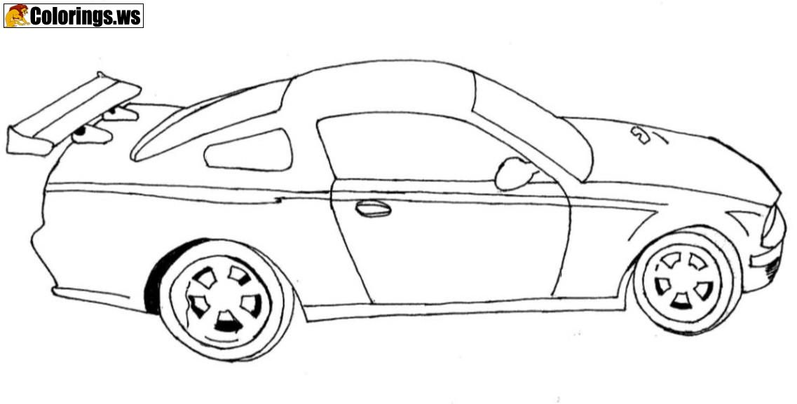 Simple Car Coloring Pages Car Coloring Pages Just As High Is