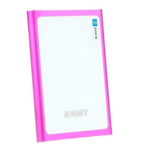 #TomTop - #TomTop EAGET G90 USB3.0 Fashion High Speed External Hard Drives Portable Desktop Laptop Mobile Hard Disk 500G - AdoreWe.com