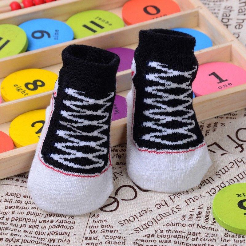 Baby Shoes 1 Pair Infant Newborn Socks Winter 100 Cotton Sock Baby Non Slip Socks Baby Clothing Accessories Baby Socks Newborn Newborn Socks Toddler Ankle Socks