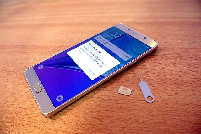 Samsung Galaxy Note 5 SIM Card Not Detected Issue & Other Related