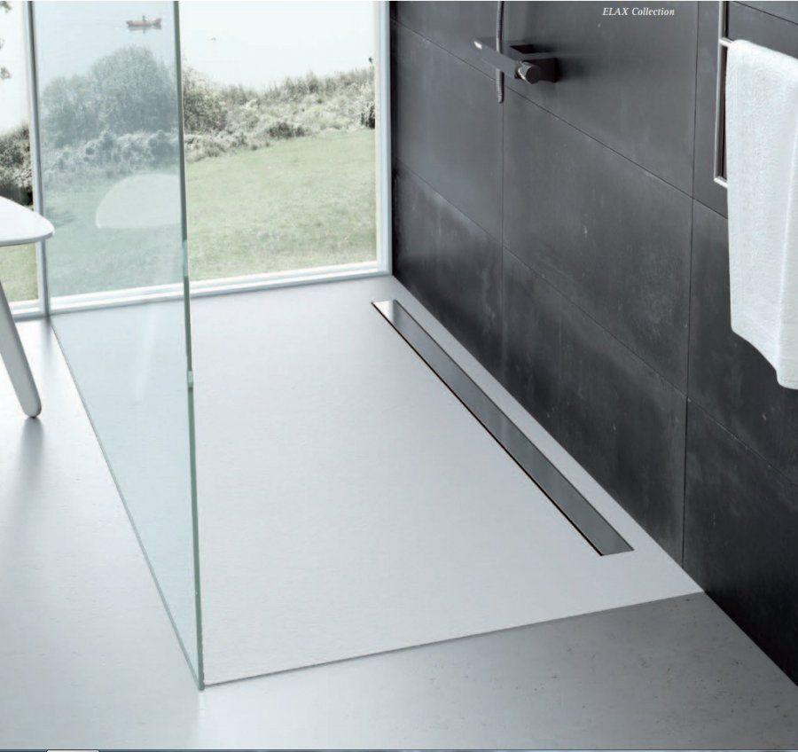 Fiora elax piatto doccia elastico colorato su misura ambientazione 1 piatti doccia e su - Piatto doccia piastrelle ...