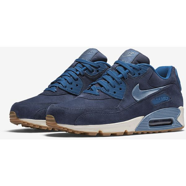 Nike Air Max 90 Premium Suede Women's Shoe. Nike.com ($95) ❤ liked on Polyvore featuring shoes, nike shoes, suede leather shoes, suede shoes, nike and nike footwear