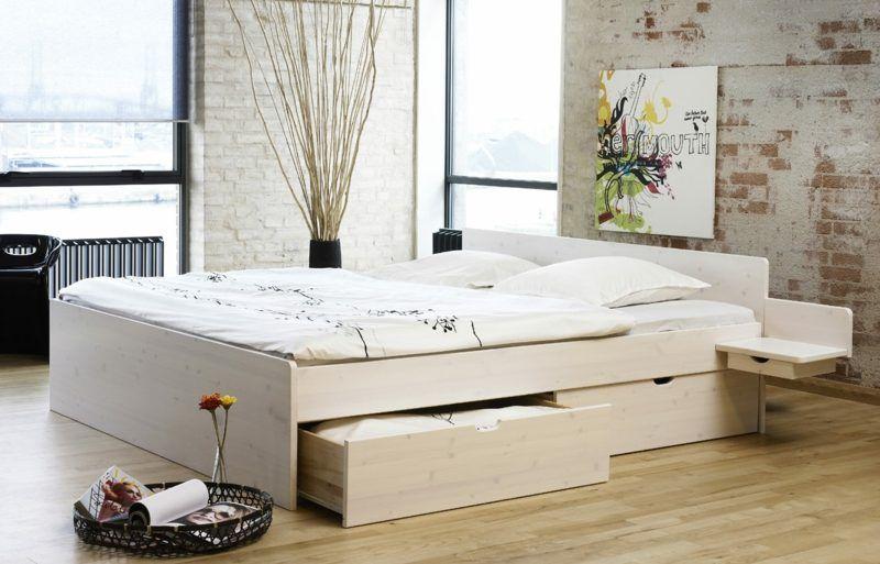 Nachttisch Zum Einhangen Praktische Schlafzimmerlosung Bett