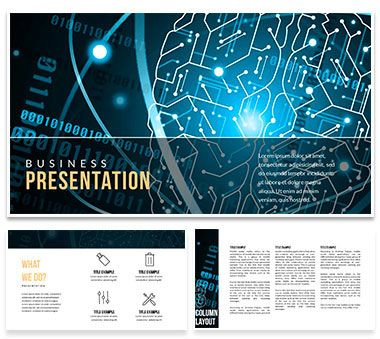 artificial intelligence online powerpoint templates | powerpoint, Powerpoint templates