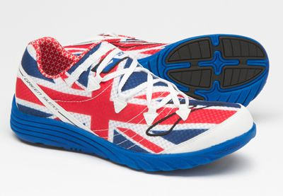 4100f4c7569 Brooks Green Silence Union Jack Running Shoes!!!!!