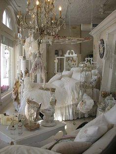 Shabby Chic Bedrooms | chabby chic | Pinterest | Bedroom shabby ...