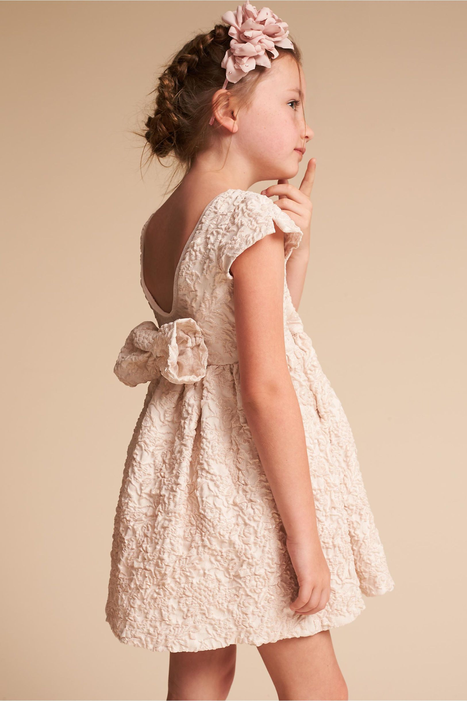 Bhldn petal rose dress in bridal party bhldn wedding flowergirl