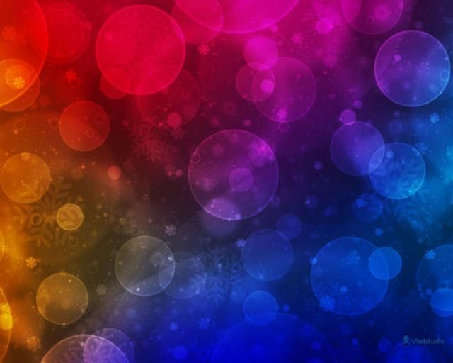 The Best Free Christmas Wallpapers for Your Computer: Christmas Lights by Vlad Studio