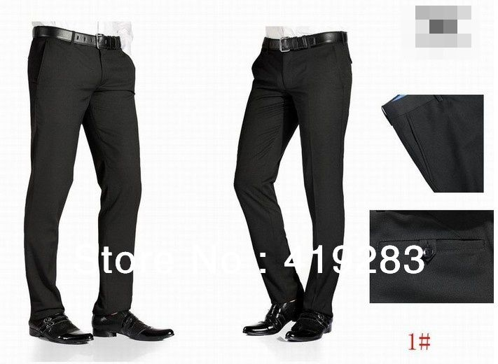 Hot-Sale-Slim-Fit-Dress-Pants-Men-Business-Suits-Pants-Fashion