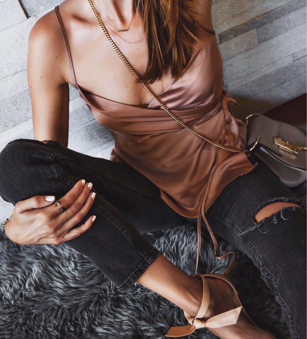 Pin by hannah mott on fashion pinterest satin shirt satin and