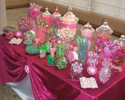 The Sweetest Trend In WeddingsThe Candy Station
