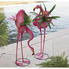Flamingo Planter Flamingo Decor Fancy Flamingo 400 x 300