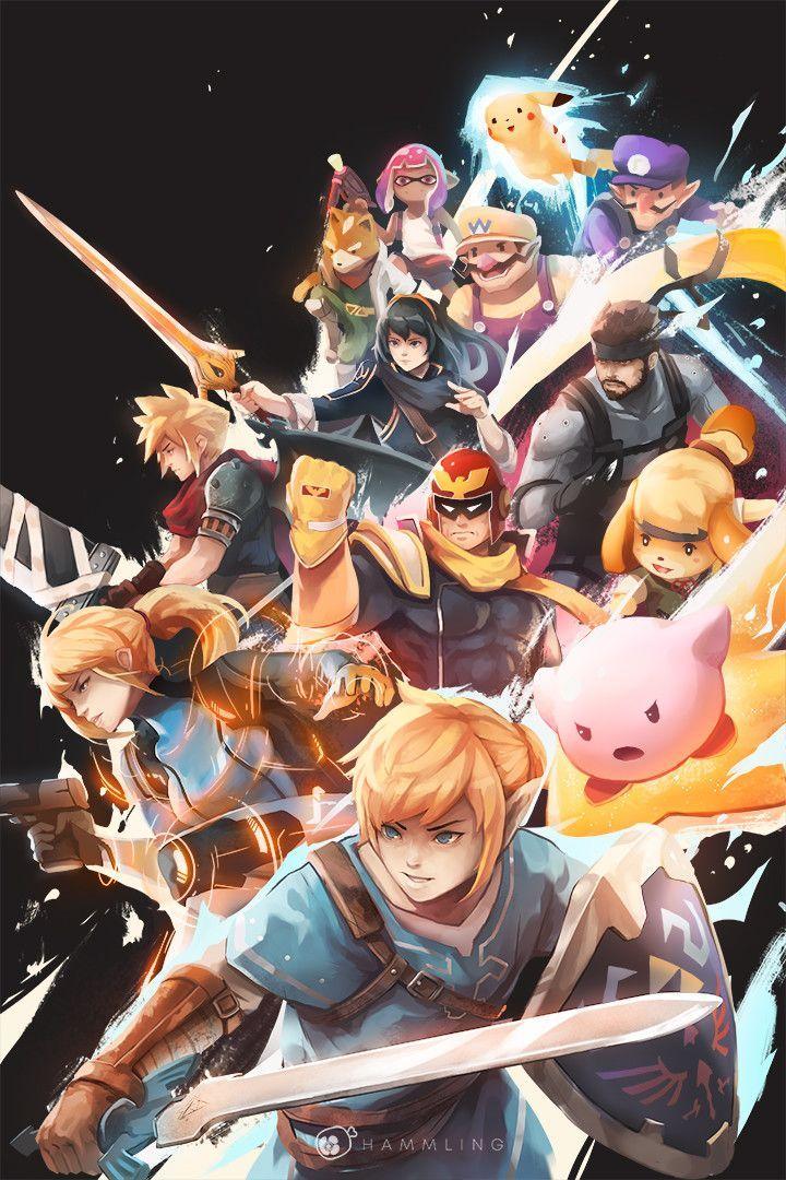 Nintendo Smash Bros Super Smash Bros Game Nintendo Super Smash Bros
