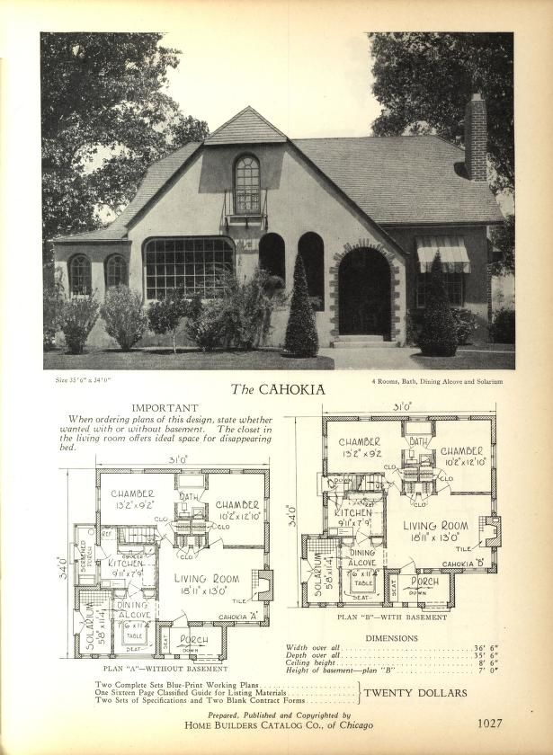 Home Builders Catalog: plans of all types of sm...