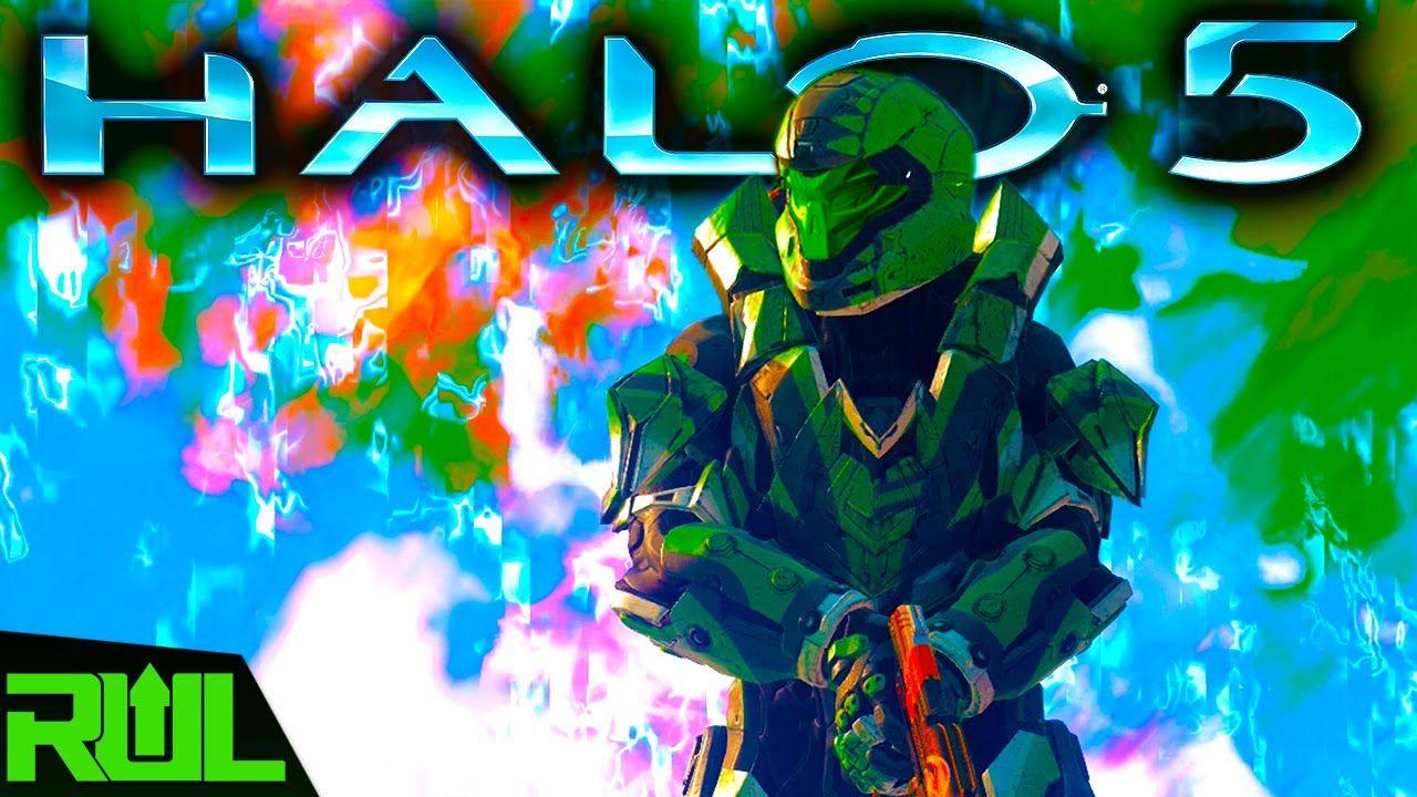HALO 5 | PARKOUR CHALLENGE FORGE MAPS (Halo 5 Guardians