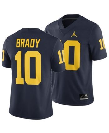 los angeles aceb0 25265 Nike Men Tom Brady Michigan Wolverines Player Game Jersey in ...