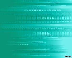 Plantilla Powerpoint De Tecnología Verde Es Una Plantilla