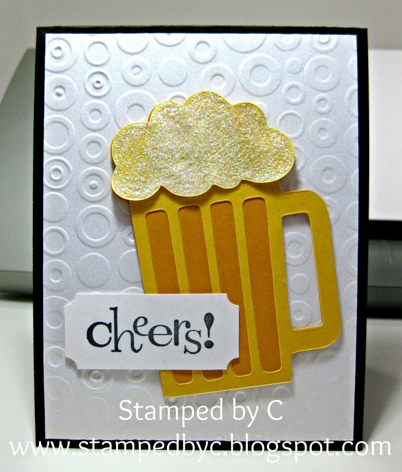 Nice Card Making Ideas 21st Birthday Part - 13: Beer Birthday Card - Beer Mug Was Made With My Cricut. (21st Birthday?