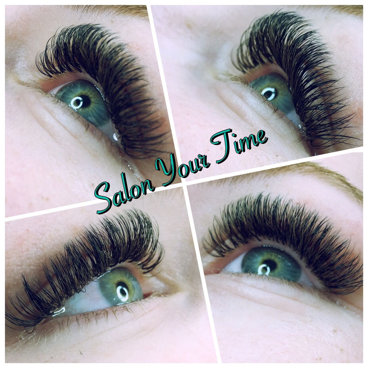 Russian volume lashes @ Salon Your Time