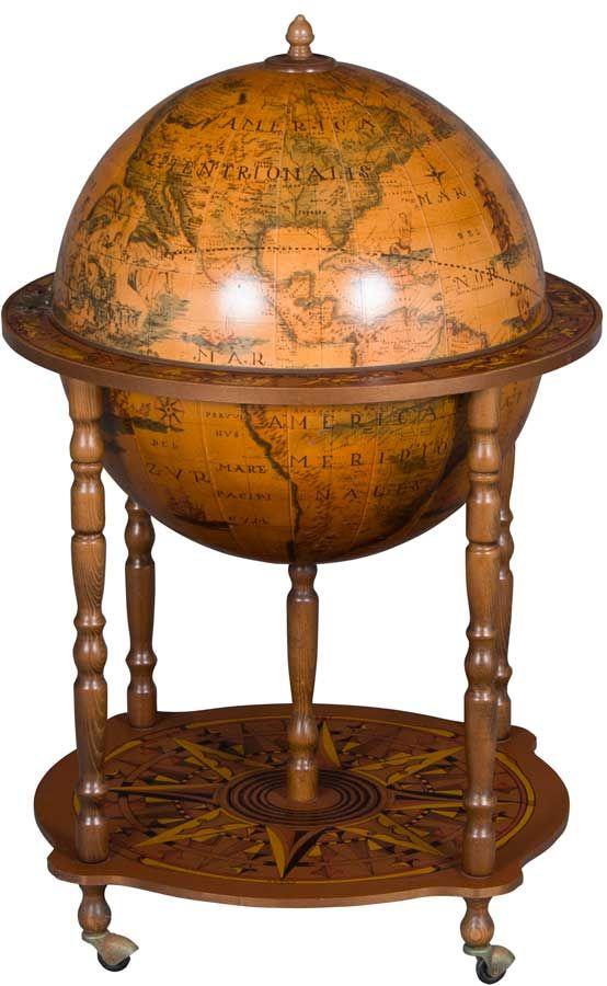 Vintage Globe Bar Or Liquor Cabinet