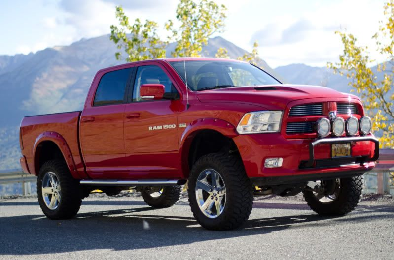 2012 dodge ram 1500 lifted - 2014 Dodge Ram 1500 Lifted Red