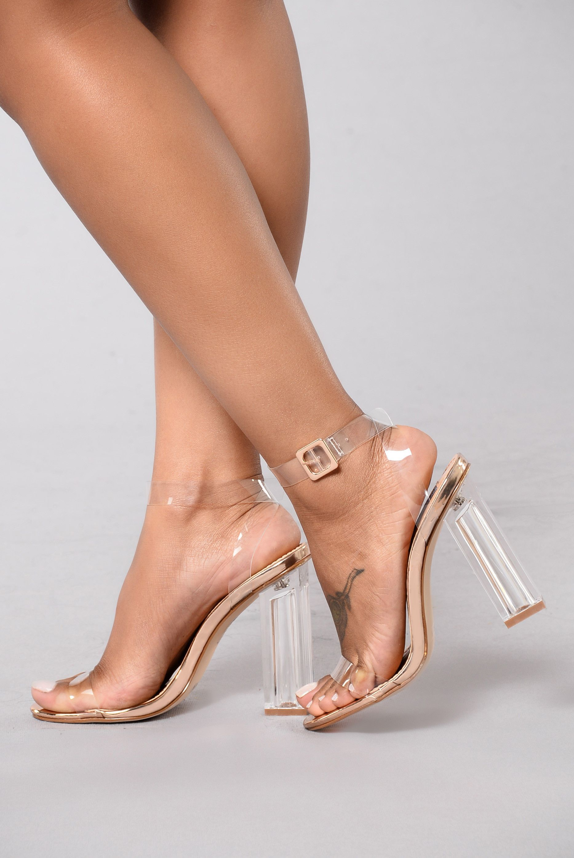 The Glass Slipper Rose Gold   Heels, Prom heels, Rose gold