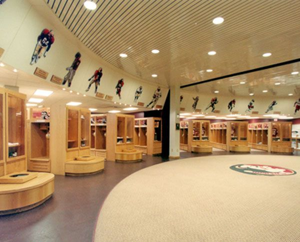 Florida State University Fsu Football Locker Room Click The
