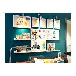 ribba tag re pour photos 55 cm ikea home fashion pinterest ambiance et bureau. Black Bedroom Furniture Sets. Home Design Ideas