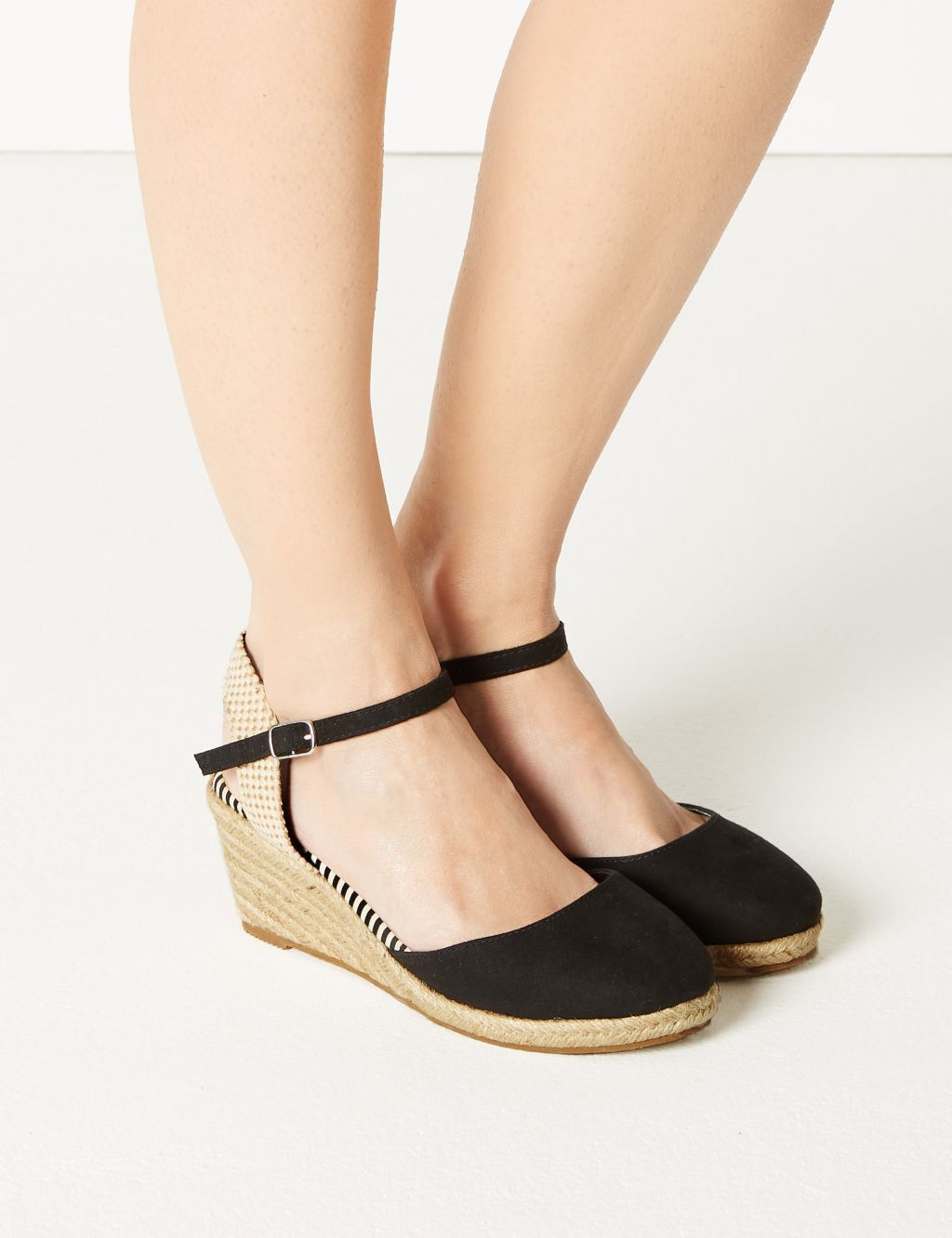 b80e6d84ecb Wide Fit Wedge Heel Espadrilles in 2019 | Shopping | Heeled ...