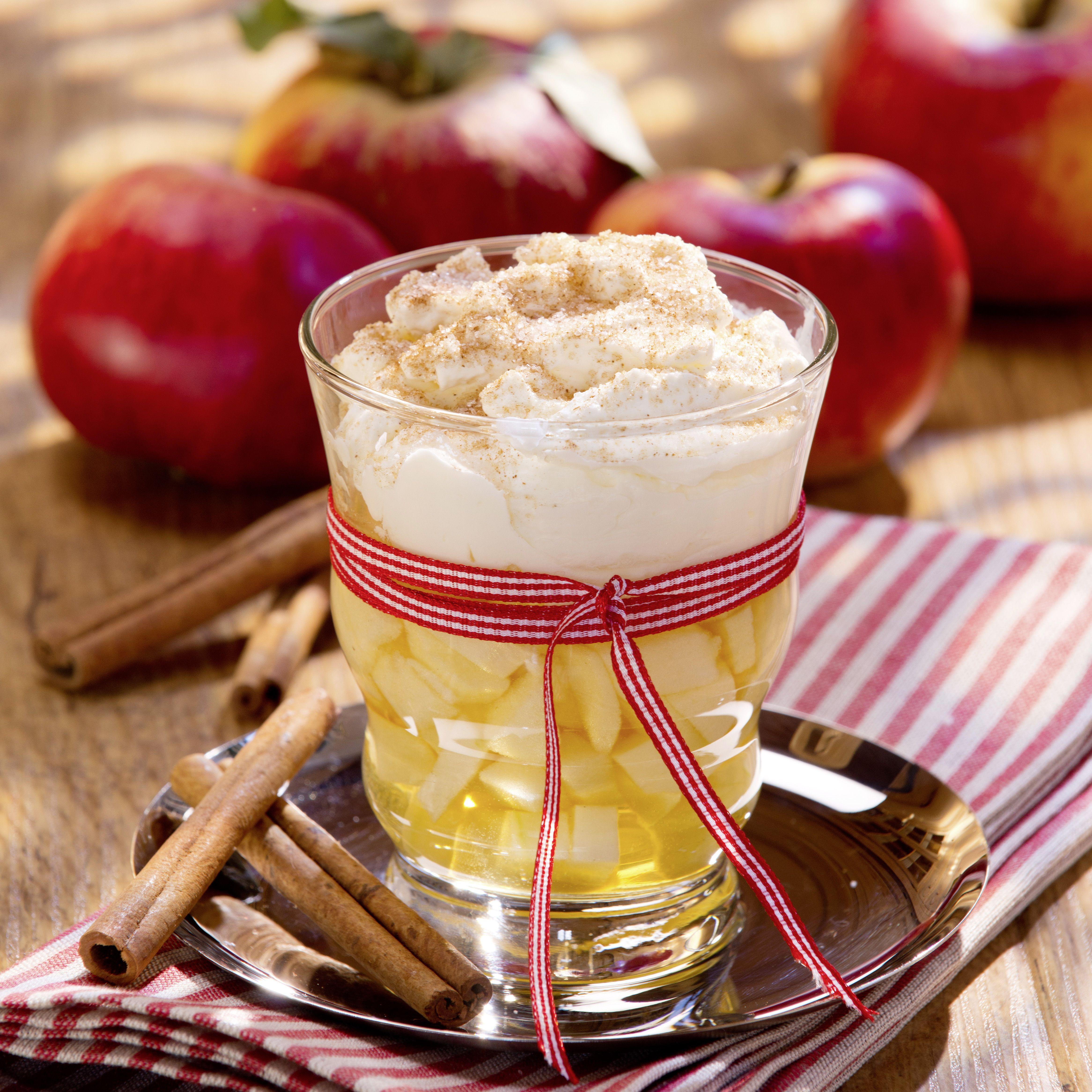 Apfelpunsch De Luxe Rezept Apfelpunsch Punsch Rezept Lebensmittel Essen
