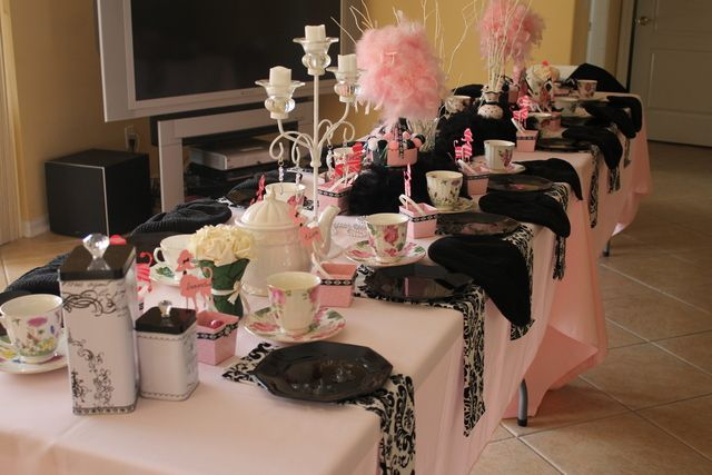 Photo 1 Of 6 Paris Style Tea Party Tea Party Quot French