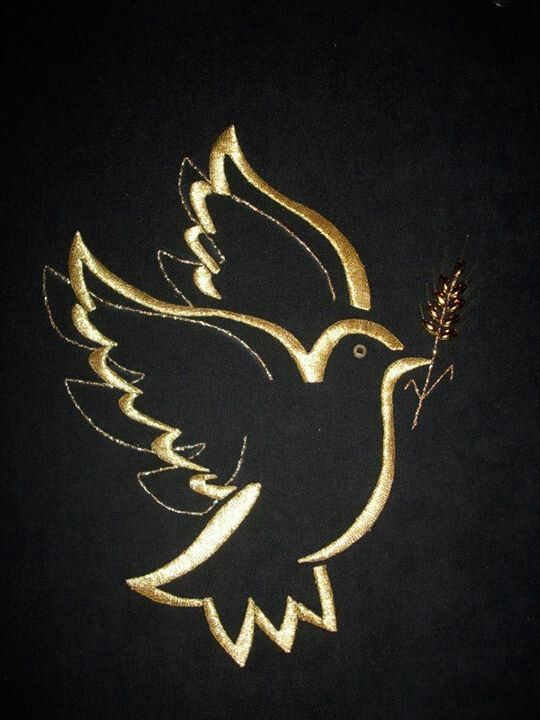 Golden dove