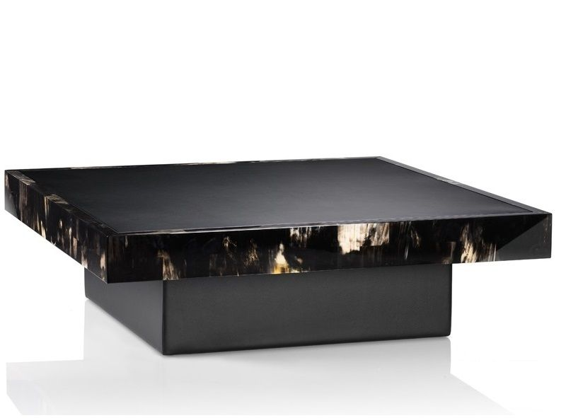 Stylish Black Leather Ottoman Coffee Table Best Ideas About