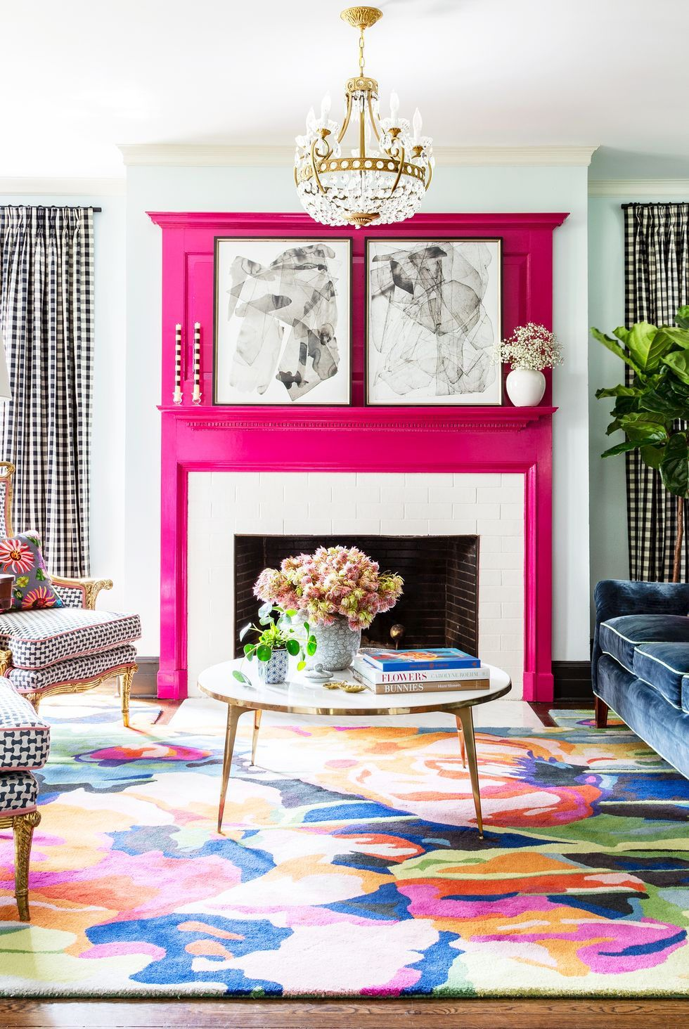 These Chic Pink Rooms Will Make You Want To Repaint Your Entire House In 2020 Living Decor Home Decor Room Decor #pink #and #yellow #living #room