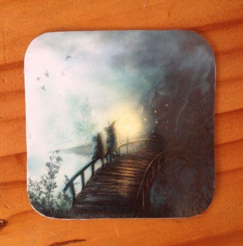 Moomins Fridge Magnet/Coaster. Handmade. £1.20 + 90p P&P on eBay.
