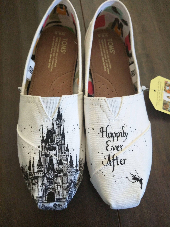 Disney cinderella castle tinkerbell weddingbride custom