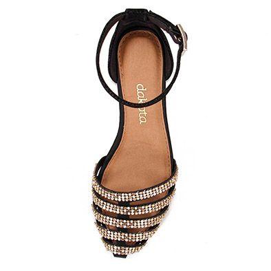 521a1faac Sandália Rasteira Feminina Dakota - Preto | Sandálias | Sapatos ...
