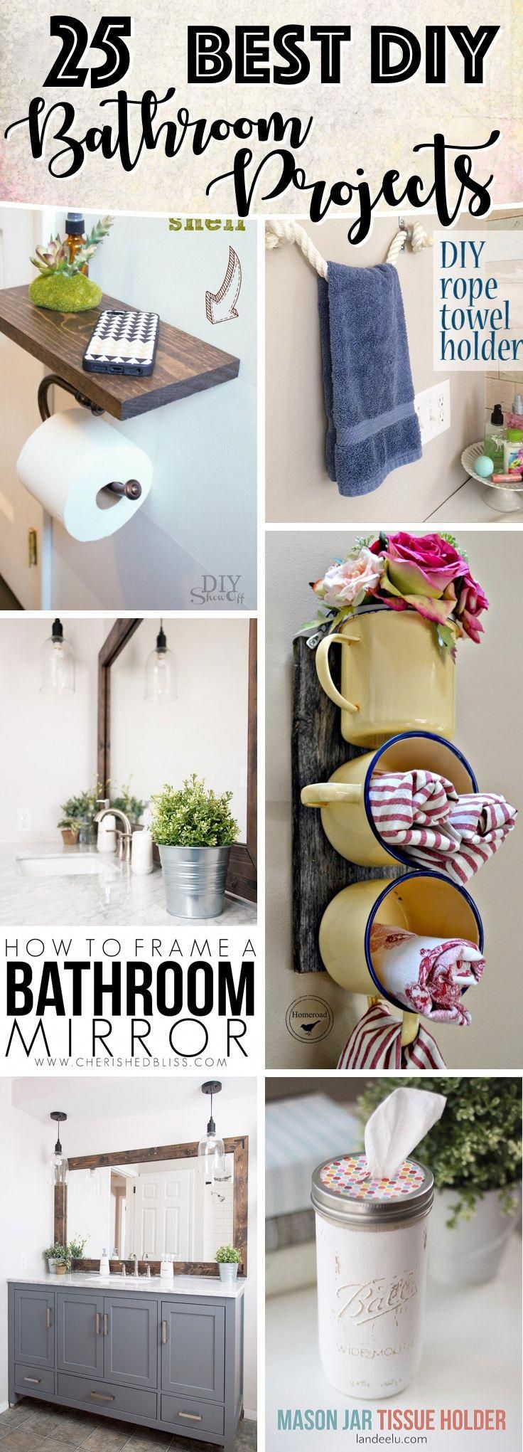 25 Utterly Innovative DIY Bathroom Projects To Give Your ...