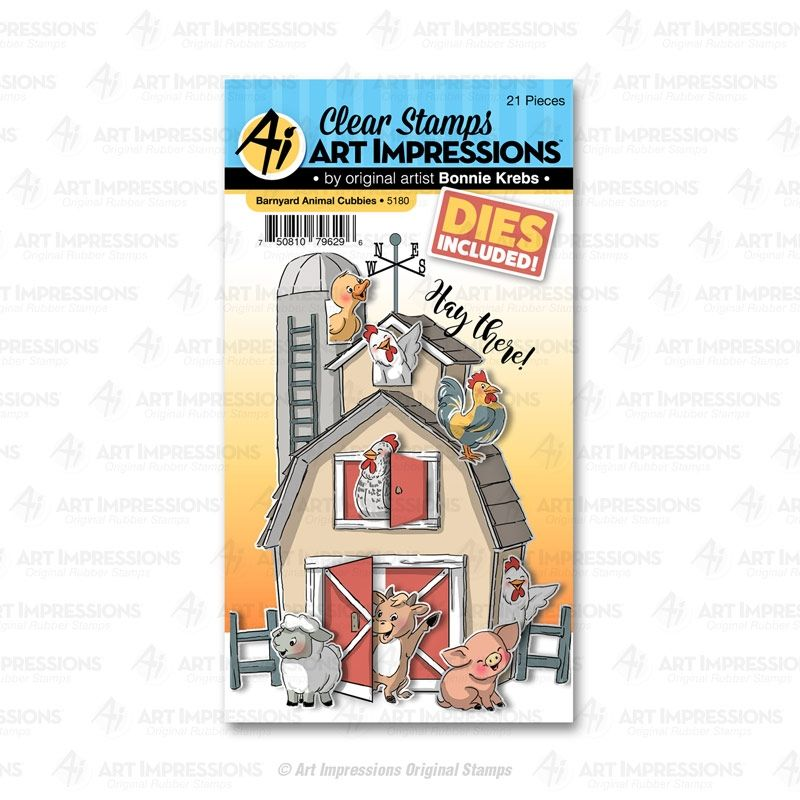 Hampton Art Art Impressions Clear Stamps His and Hers Gardeners 4 by 8-Inch