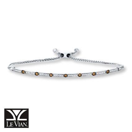 Sweetly Adjustable The Le Vian Bolo Bracelet In 14k Vanilla Gold