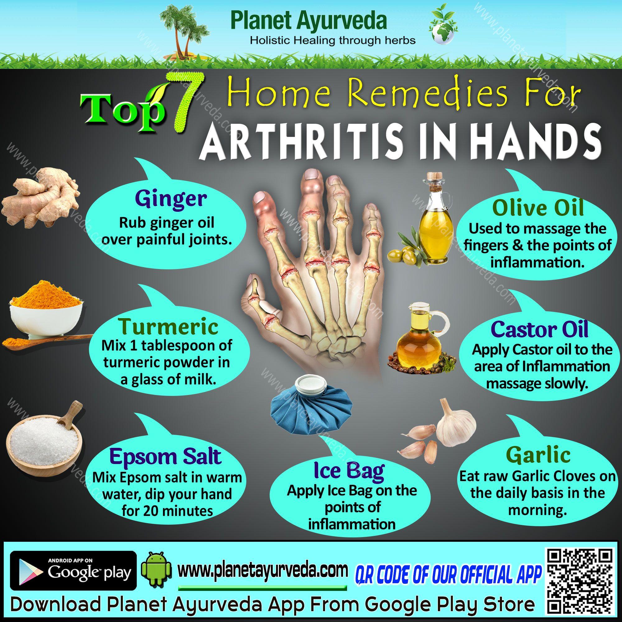 Top 7 Home Remedies for Arthiritis in Hand | Arthritis